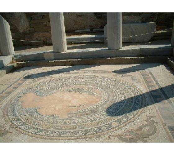 delos  mosaika