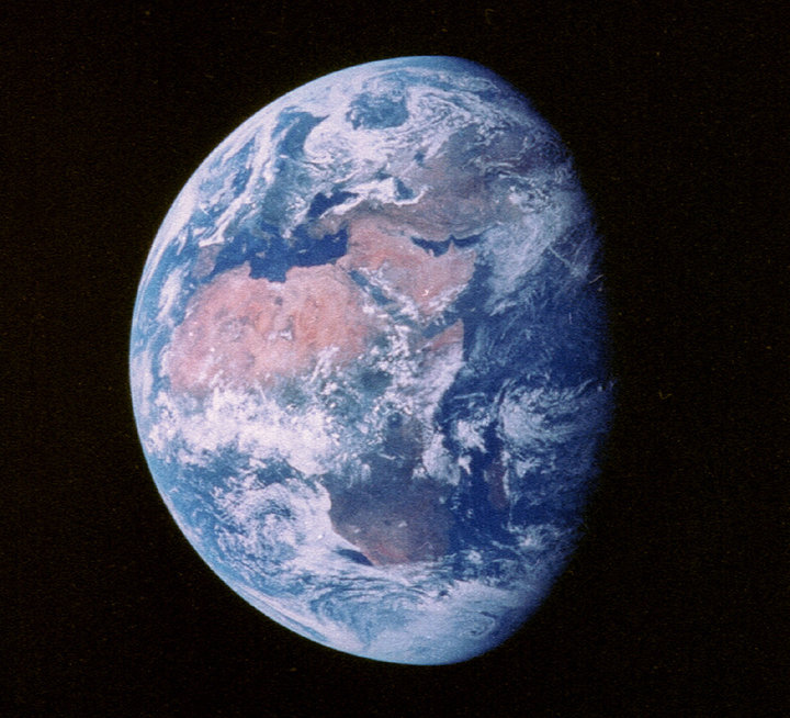 Earth from Apollo 11